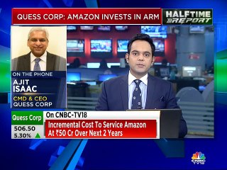 Arrangement with Amazon to develop an enhanced customer experience, says Quess Corp