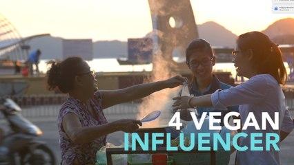 4 VEGAN INFLUENCER