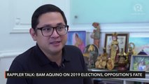 Rappler Talk: Bam Aquino on the 2019 elections, opposition's fate