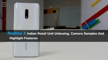 Realme X Indian Retail Unit Unboxing, Camera Samples And Highlight Features