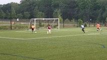 Football : arrêt incroyable d'un gardien après une grosse erreur