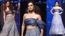 Lakme Fashion Week: Kangana Ranaut sets the fire on ramp; Watch Video | FilmiBeat