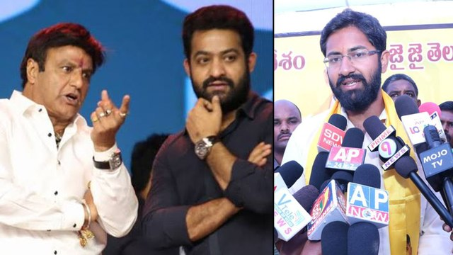 Balakrishna's Son-in-law Sensational Comments On Jr NTR || Filmibeat Telugu