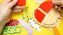 21.DIY Cooking Toys For Kids Pizza Cake