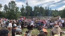 Fête et combats vikings dans l'Orne