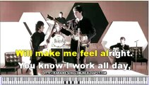 Karaoke The Beatles - A Hard Day's Night   - Free karaoke songs online with lyrics on the screen and piano.