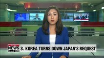 S. Korea rejects Japan's request to stop Dokdo defense exercise