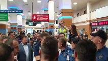 L'énorme accueil pour l'arrivée de Daniel Sturridge en Turquie