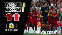 Reactions | Liverpool 3-1 Arsenal: Reality check for Gunners fans