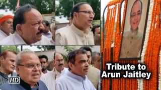 Tribute to Arun Jaitley