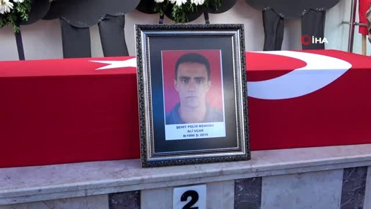 Hatay şehidi özel harekat polisi Ali Uçar son yolculuğuna uğurlandı -  Dailymotion Video