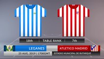 Match Preview: Leganes vs Atletico Madrid on 25/08/2019