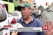 La Molina: falsos mendigos atacaban si no se les daba limosna