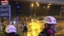 Hong Kong : reprise des violences avec canons à eau et armes à feu contre les manifestants (vidéo)