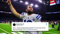 Andrew Luck shocks social media