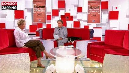 Vivement Dimanche : Muriel Robin interpelle Emmanuel Macron sur les féminicides (vidéo)