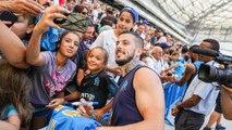 Chaleur et souvenirs à l'Orange Vélodrome