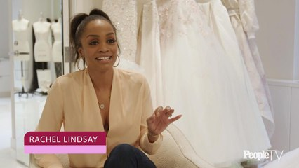 "Watch Rachel Lindsay Try on Wedding Dresses – And See Why She Was ""Shocked"" By Her Final Choice"