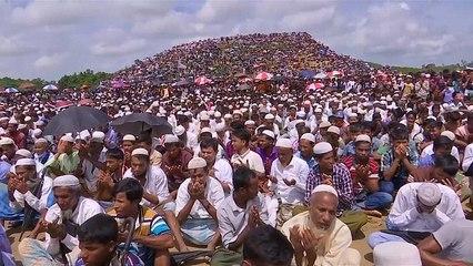 Arakanlı Müslümanlar, soykırımın ikinci yılını dua ederek andı