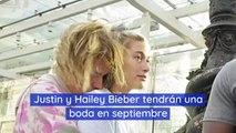 Justin y Hailey Bieber tendrán una boda en septiembre