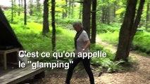 Le glamping gagne les forêts d'Amérique du Nord