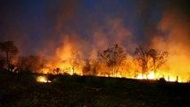 Brasil combate os incêndios na Amazônia após novos apelos