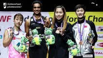 P V SINDHU WINS BADMINTON WORLD CHAMPIONSHIP GOLD