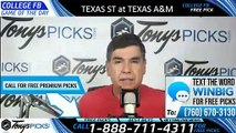 Texas St Texas A&M College Football Pick 8/29/2019