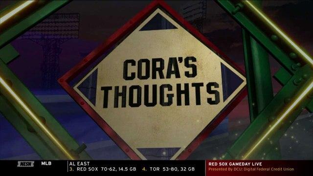 Alex Cora Laments Offense For Not Picking Up Bullpen Effort