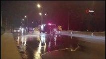 Otomobil motosiklete çarptı: 2 ölü