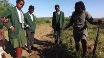 Afrique du Sud: pieds nus, sur les traces des rhinocéros