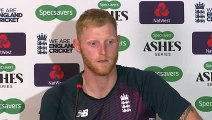 Ben Stokes reaction after beating Australia in Heading with his Brilliant Century