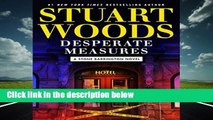 About For Books  Desperate Measures (Stone Barrington Novel)  For Kindle