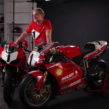 Ducati Panigale V4 25 Anniversario 916 Carl Fogarty Interview