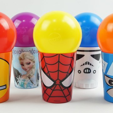 Balls Surprise Cups Panda Star wars Disney Princess Spiderman Marvel Avengers X men Paw Patrol