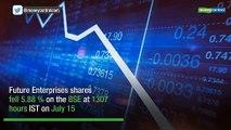 Future Enterprises falls 13% after DRI arrests CFO Dinesh Maheshwari
