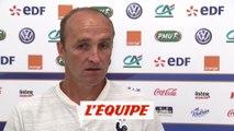 Rouxel «Aller au bout de cet objectif» - Foot - Euro -U19 ans