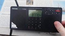 FM Radio Band Scan 2 at Clacton On Sea Essex Beach July 2019