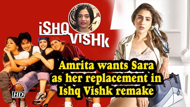 Amrita Rao wants Sara Ali Khan as her replacement in Ishq Vishk remake