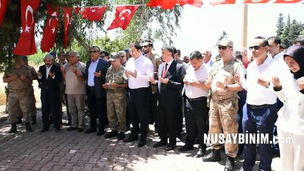 Nusaybin'de 15 Temmuz Milli Birlik ve Demokrasi Günü etkinlikleri