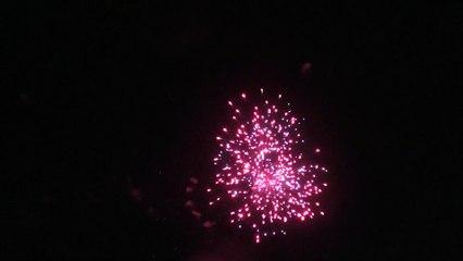 Le feu d'artifice du 14 juillet 2019 à Hourtin