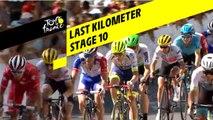 Last kilometer / Flamme rouge - Étape 10 / Stage 10 - Tour de France 2019