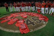Angels Honor Tyler Skaggs With Combined No-Hitter