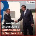 En visite officielle, Emmanuel Macron veut recréer du lien avec la Serbie