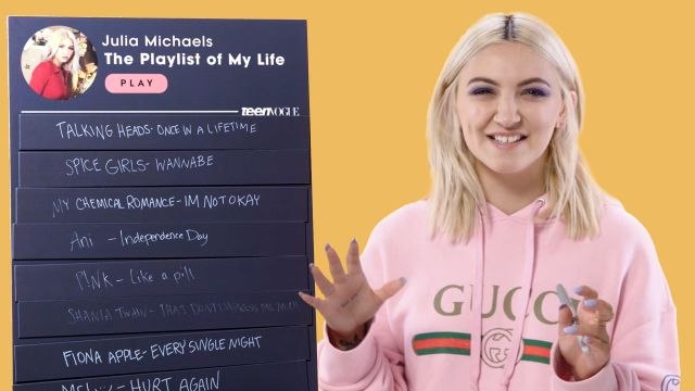 Julia Michaels Creates The Playlist of Her Life