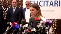 Halep arrives in Bucharest after being crowned new Wimbledon champion
