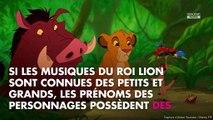 Le Roi Lion : que signifient les prénoms des personnages du dessin animé ?
