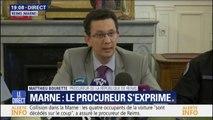 """Collision dans la Marne: à cette heure, rien ne permet de savoir """"pour quel motif le véhicule s'est engagé"""" (Procureur)"""