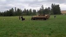 Mesvin : les soldats allemands pris dans une embuscade!