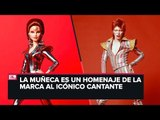 Lanzan edición limitada de Barbie inspirada en David Bowie